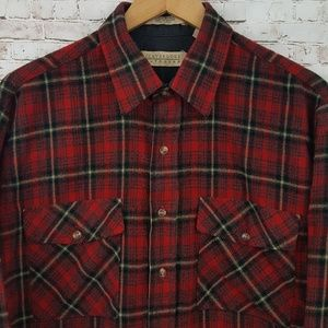 Claybrooke Outdoors Mens Flannel Shirt Quality